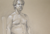 Life drawing-male